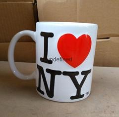 Promotional Creative Ceramics Mug with I Love