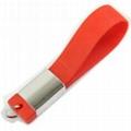 Bracelet USB Thumbdrive in PVC 1