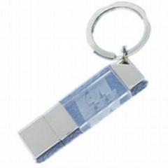 3D LOGO USB Drive in Crystal
