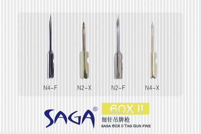 SAGA 60IIX  細針吊牌槍 3