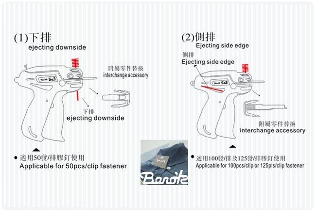 日本Bano'k 503 SL 吊牌枪 2