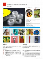 彈性膠針梯形膠釘定位膠針 (熱門產品 - 1*)