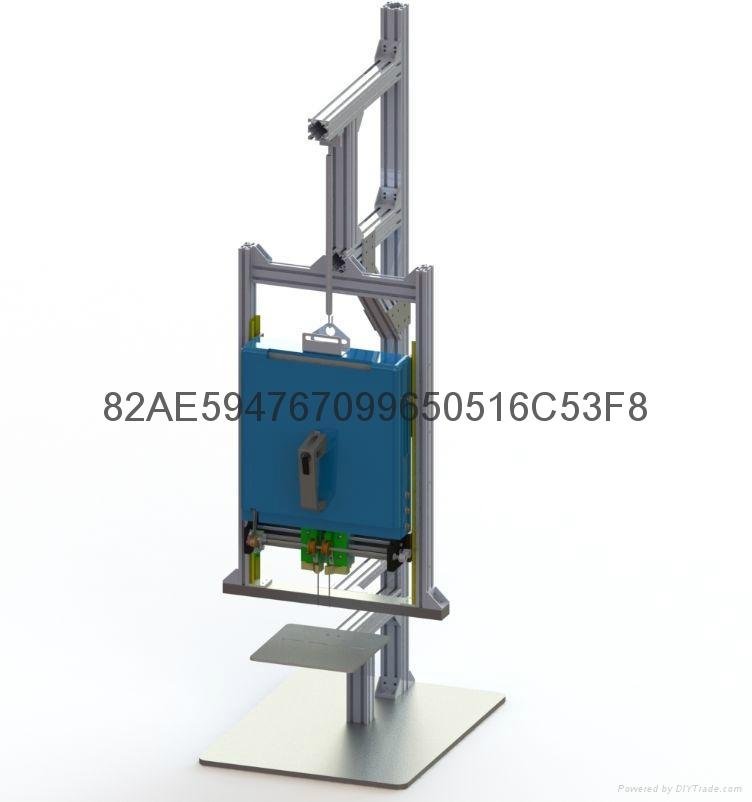 弹性胶针梯形胶钉定位胶针 2