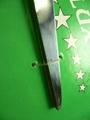 Elastic trapezoidal plastic pin positioning adhesive glue needle