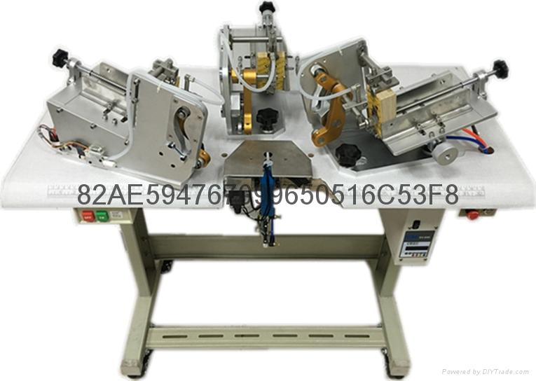 自动送卡胶针机(三卡)