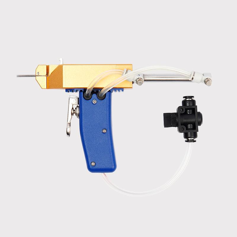 Pneumatic shoe gun