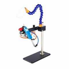 TM-200 气动胶针机 可打多层毛巾袜子商标吊牌用