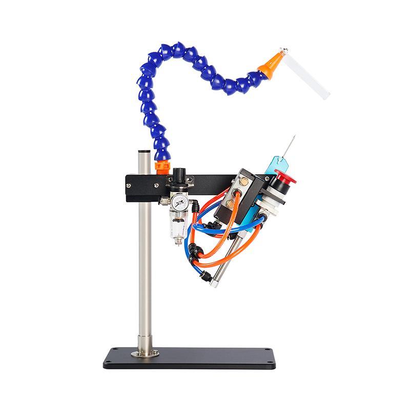 TM-200 气动胶针机 可打多层毛巾袜子商标吊牌用 3
