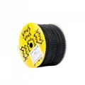 SAGA 进口料梯形胶钉  塑胶绳缆捆绑胶钉