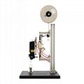 Elastic staple & machine