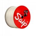 SAIP 国产料梯形胶钉 塑胶绳缆捆绑胶钉