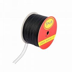 SAGA 國產料梯形膠釘 塑膠繩纜綑綁膠釘