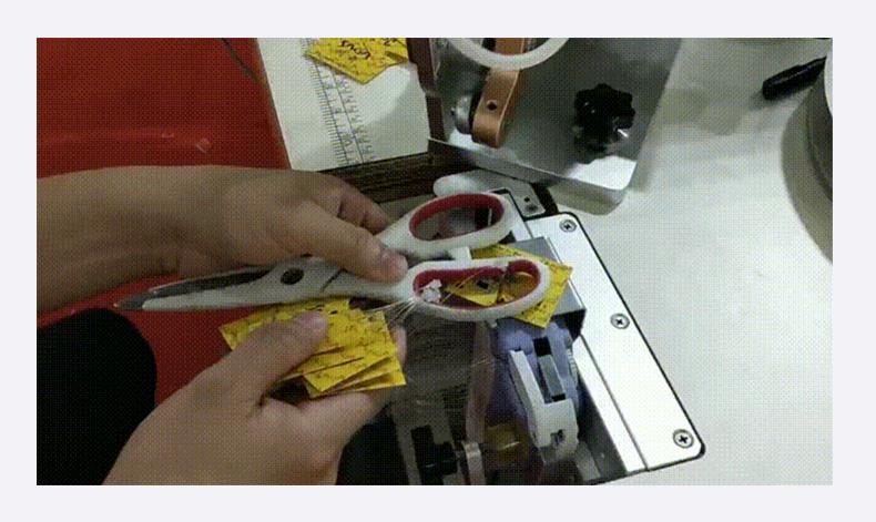 FM-101自动送卡套环机 自动穿吊牌 6