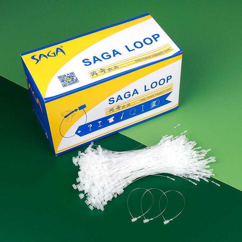 SAGA LOOP套環 服裝標籤連接用塑膠制線 1