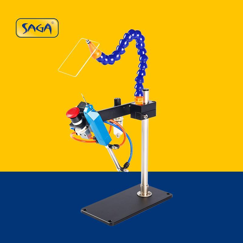 TM-200 氣動膠針機 可打多層毛巾襪子商標吊牌用 1