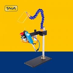 TM-200 氣動膠針機 可打多層毛巾襪子商標吊牌用
