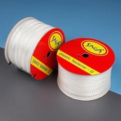 SAGA 国产料梯形胶钉 塑胶绳缆捆绑胶钉