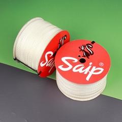 SAIP 國產料梯形膠釘 塑膠繩纜綑綁膠釘