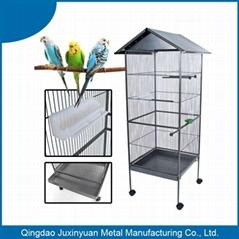Top roof metal Bird Cage