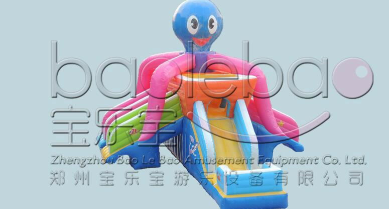 章魚水滑梯 2