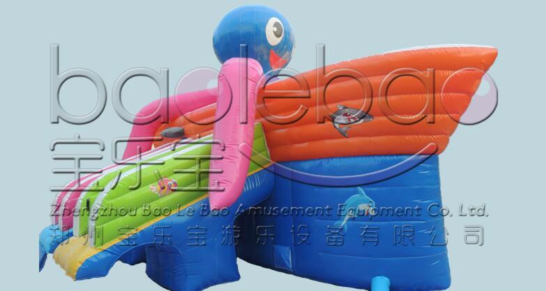 章魚水滑梯 1