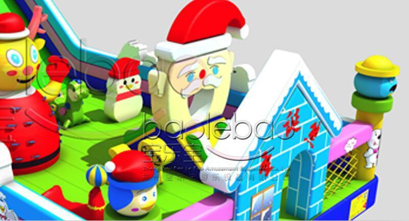聖誕熊大滑梯 3