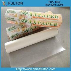 food grade wrapping wax paper