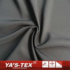 2016 Hot Selling High Elastic Soft Solid Dyed Polyester Spandex Fabric