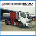 Dongfeng 4x2 small garbage truck refuse collector garbage truck for sale 1