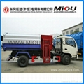 Dongfeng 4x2 small garbage truck refuse collector garbage truck for sale 2