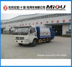 hot sale 4x2 Drive Wheel waste management garbage truck