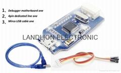 1set=STM32F103C8T6 ARM STM32 Minimum System Development Board +J-link OB ARM emu
