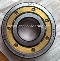 6302MA/C3 brass cage deep groove ball bearings 15*42*13