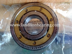 6306M/C3 brass cage deep groove ball bearings 30*72*19mm