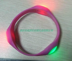 廣告環保活動贈品定做禮品飾品專業夜光藝朮DIY帶手環表帶