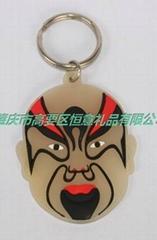 logo 軟膠鑰匙扣 精美 小禮品 鑰匙扣質量保証專業定製批發可零售