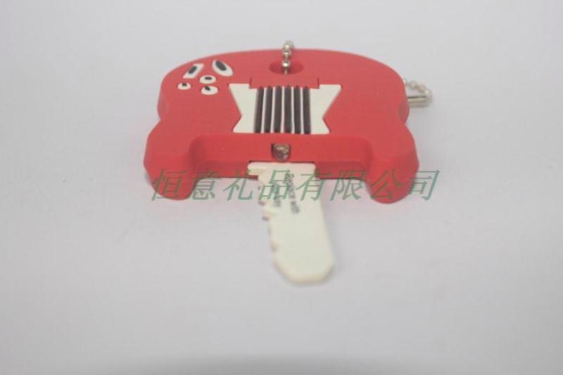 供应pvc发光服饰灯 服饰配饰 pvc钥匙扣吊牌 2