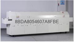 深圳大型在線通道式熱風回流焊-K8