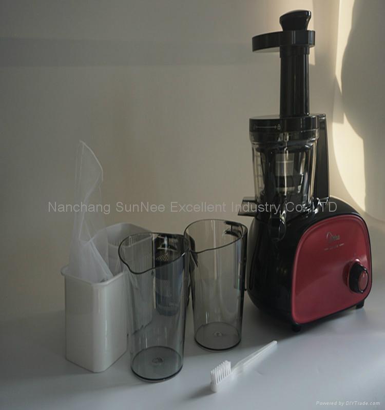 2016 hot sale DC motor 200W 1000ml slow juicer and kitchen living Slow Juicer  2