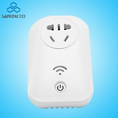 CN Socket Remote 10A Smart Plug Power Outlet Switch Wall Remote Socketes
