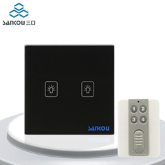 Light Switch Remote Switch Controller UK Standard 2Gang Remote Switches