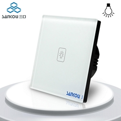 EU Standard Dimmer Switch Wall Switch Wall Light Touch Dimmer Switches