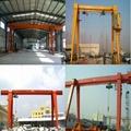 Single-girder gantry crane