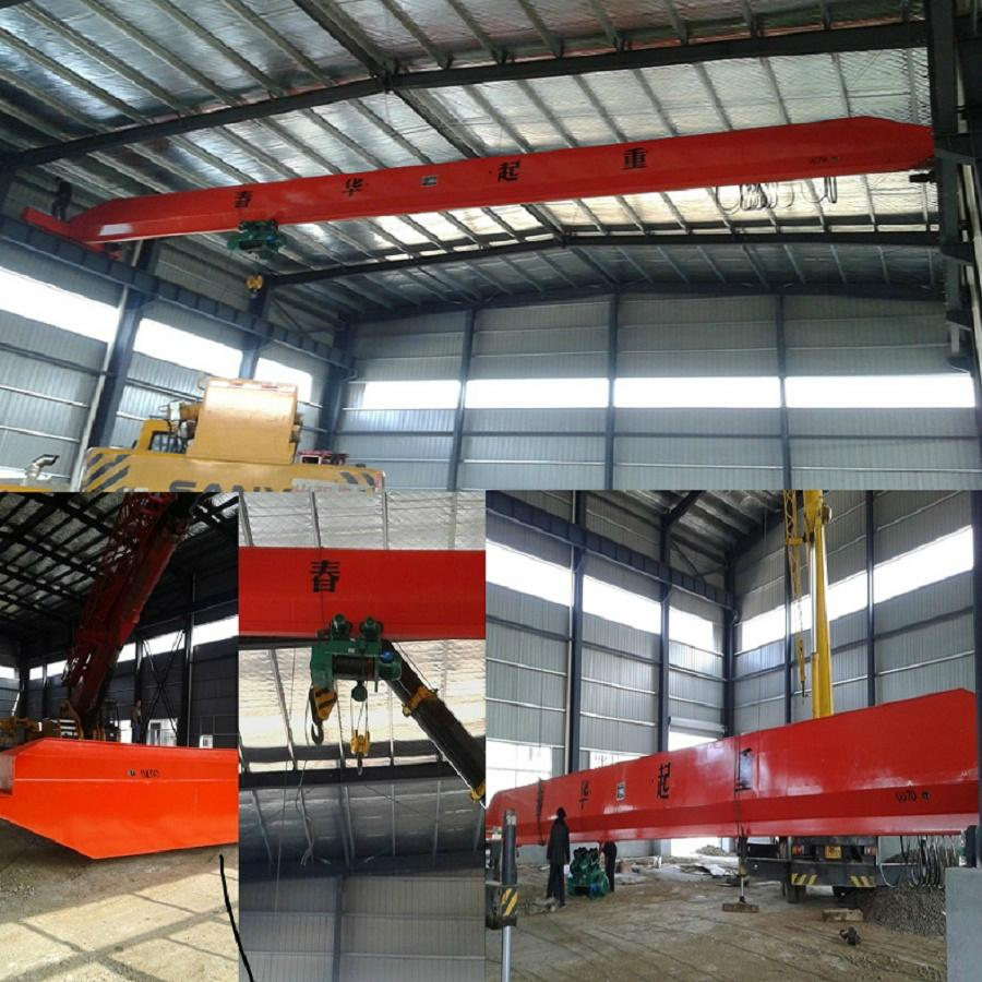 Sell like hot cakes LDA type electric single-girder crane 3 t 3