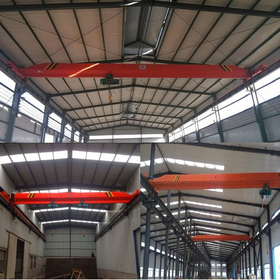 Sell like hot cakes LDA type electric single-girder crane 3 t 4
