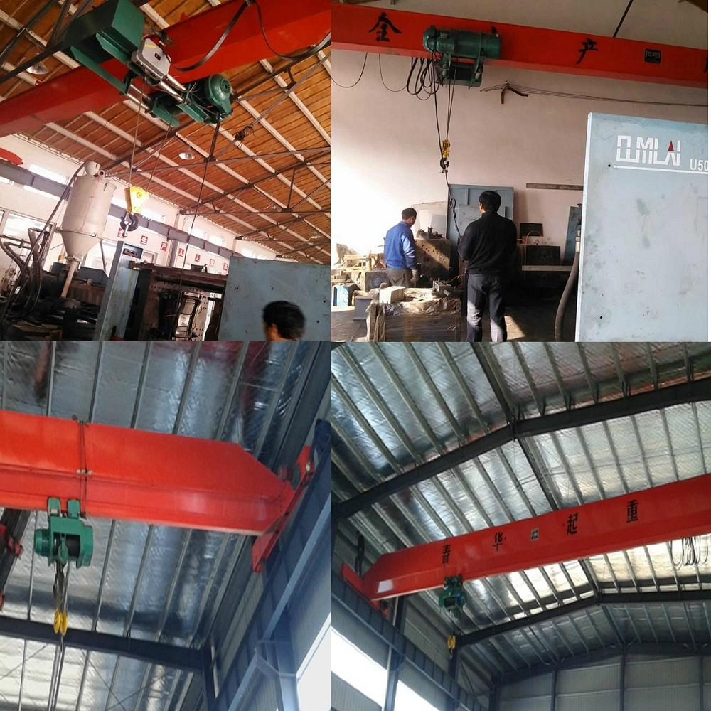 Sell like hot cakes LDA type electric single-girder crane 3 t 2