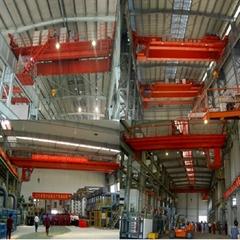 QD type double beam hook bridge crane