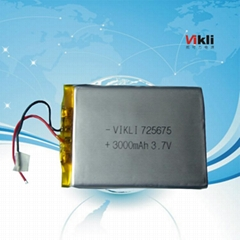 China battery manufacturer 3.7v 3000mah lipo lithium battery for rc helicopter