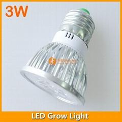 3W LED Grow Light E27