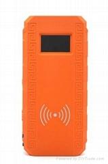 13500mah car jump starter wireless  charging